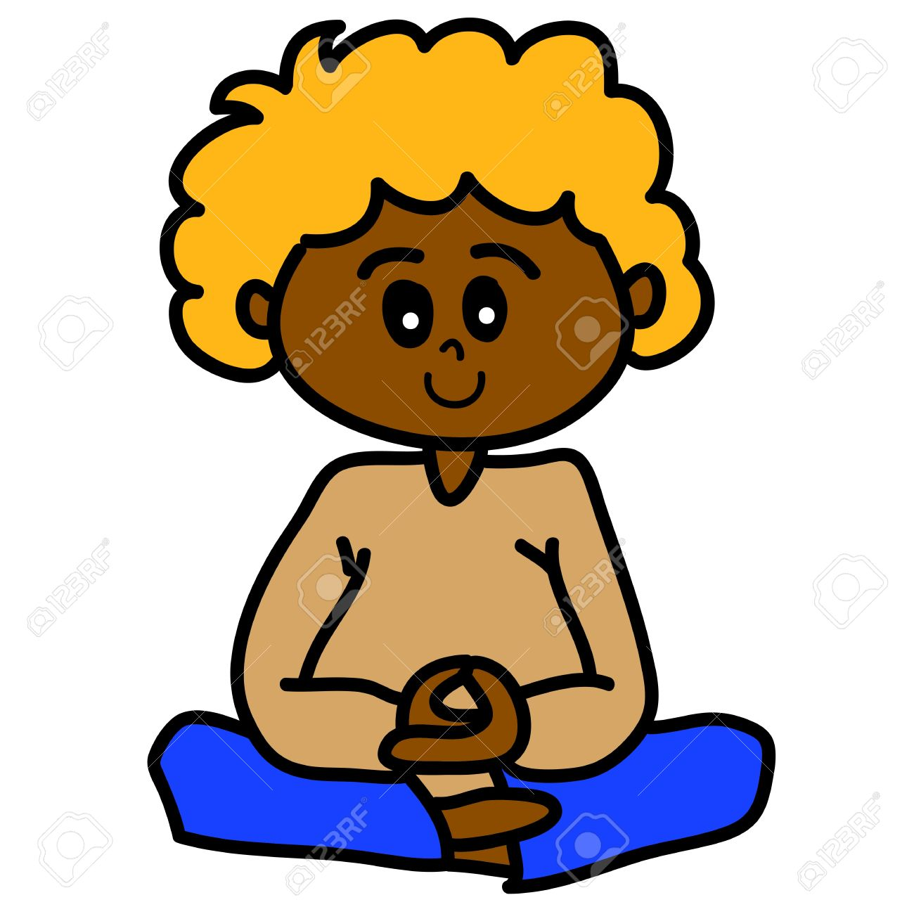 collection of boy. Calm clipart animated