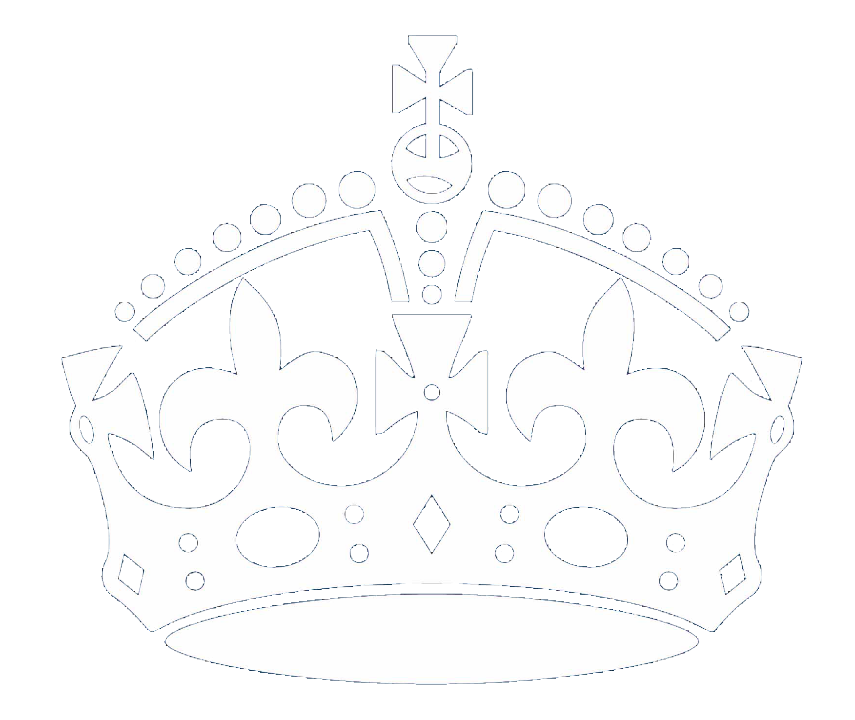 Free keep crown download. Calm clipart black and white