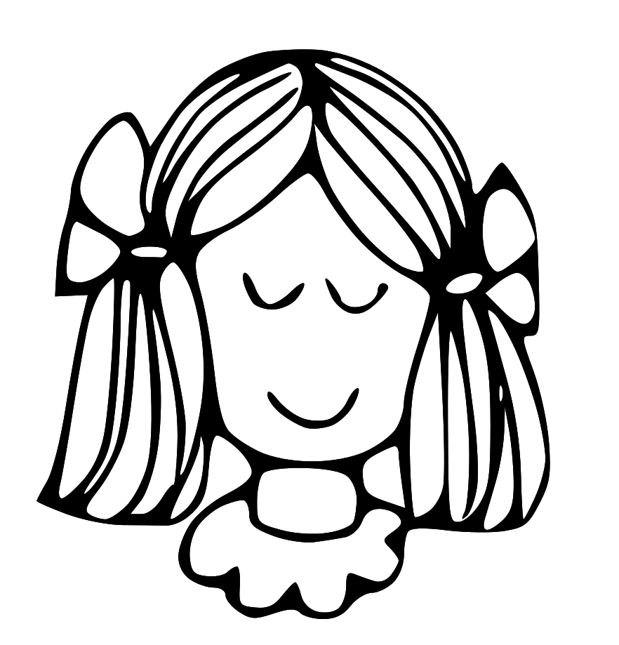 Pencil in color . Calm clipart black and white