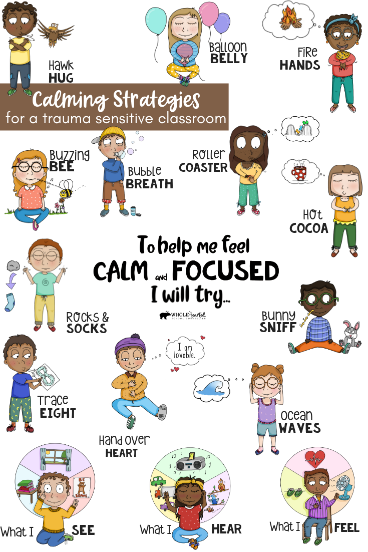 Mindfulness exercises for kids. Calm clipart breathing technique