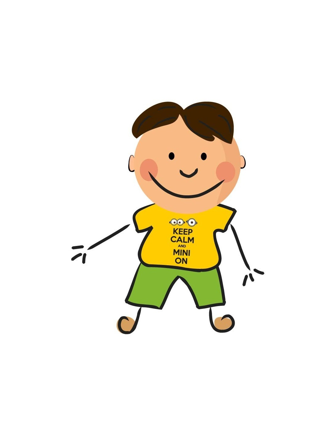 Keep and mini on. Calm clipart calm boy