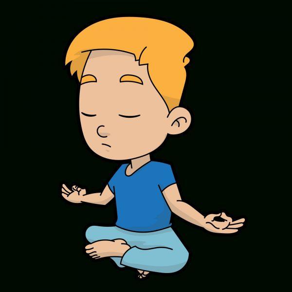 Calm clipart calm boy.  meditation png freeuse