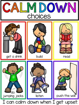Down techniques books posters. Calm clipart calm child