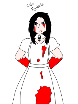 Alice madness returns by. Calm clipart calm girl