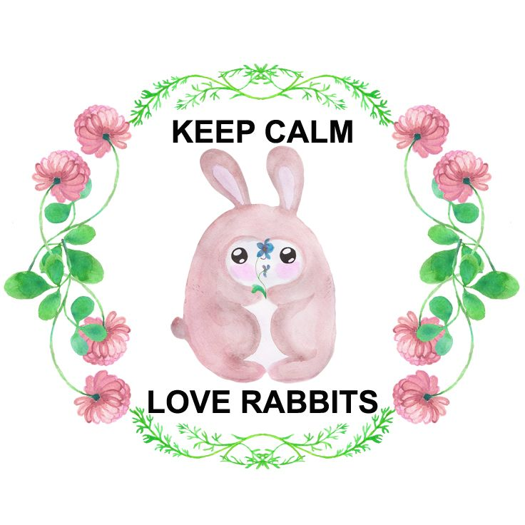 Calm clipart calm hand. Keep and love rabbits