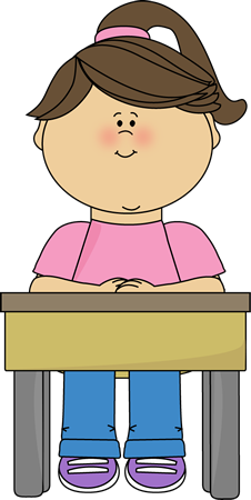 Desk clipart hand on. Free calm student cliparts