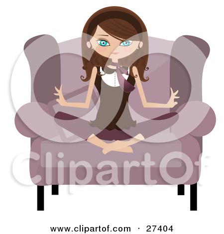 Calm clipart calm woman. Chair yoga person images