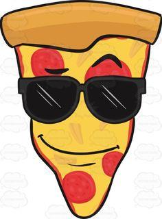 Hot slice of pizza. Calm clipart calmness