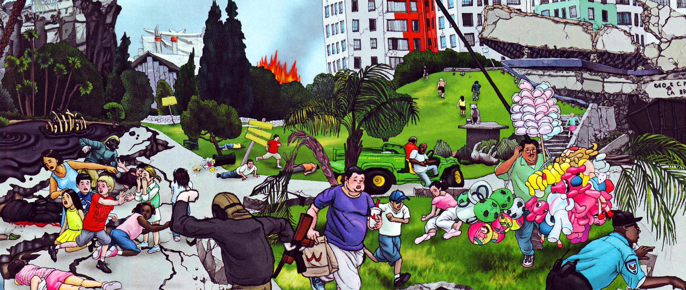 Calm clipart chaos. Clip art free panda