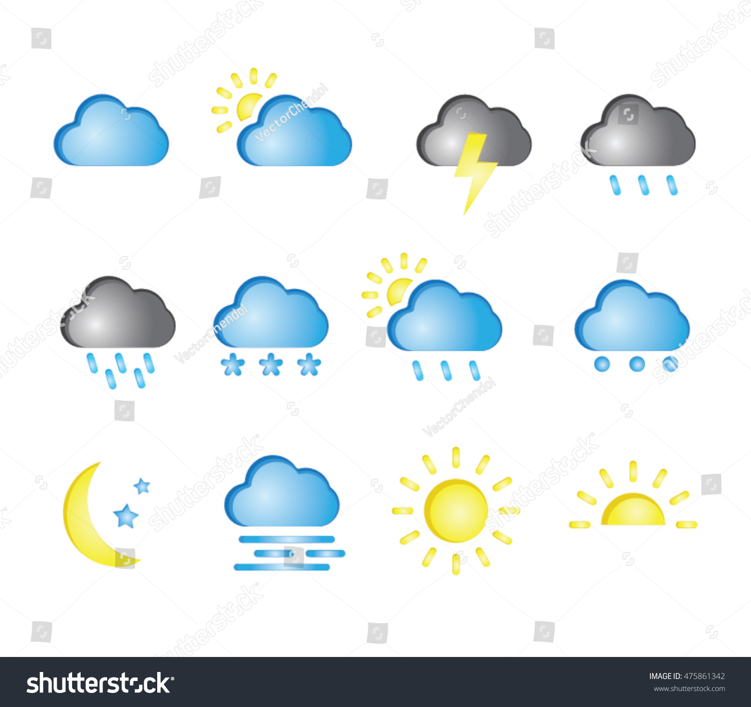 Nice weather pencil and. Calm clipart clip art