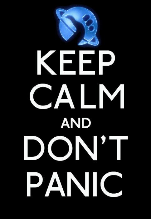 best all things. Calm clipart dont panic