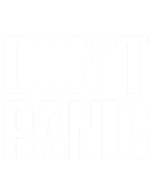 Calm clipart dont panic. About us don t