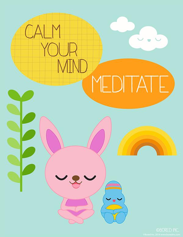 Positive mental kid s. Calm clipart emotional health
