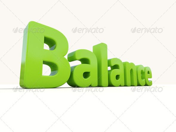 d word balance. Calm clipart equanimity