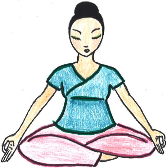 Calm clipart equanimity. The rowdy goddess