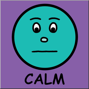Calm clipart face. Clip art english color