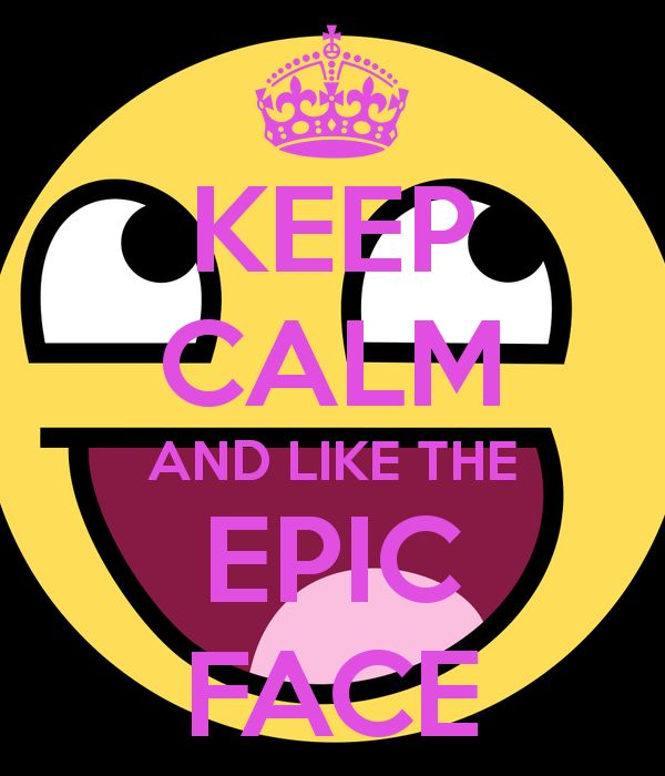 best epic images. Calm clipart face
