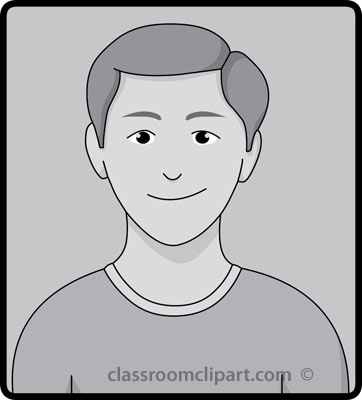 Calm clipart face. Facial expressions expression gray