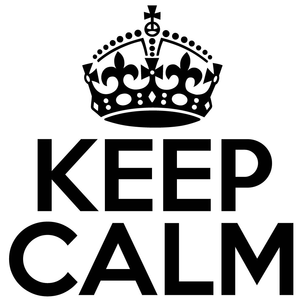 Calm clipart keep calm. Free logo download clip