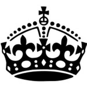Crown clip art bing. Calm clipart keep calm