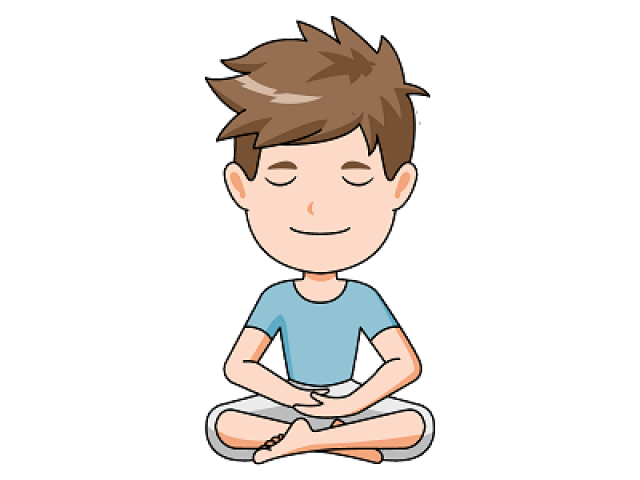 Calm clipart kid meditation. Free download clip art