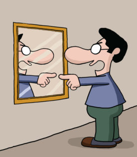 Blog and self talk. Calm clipart mental strength