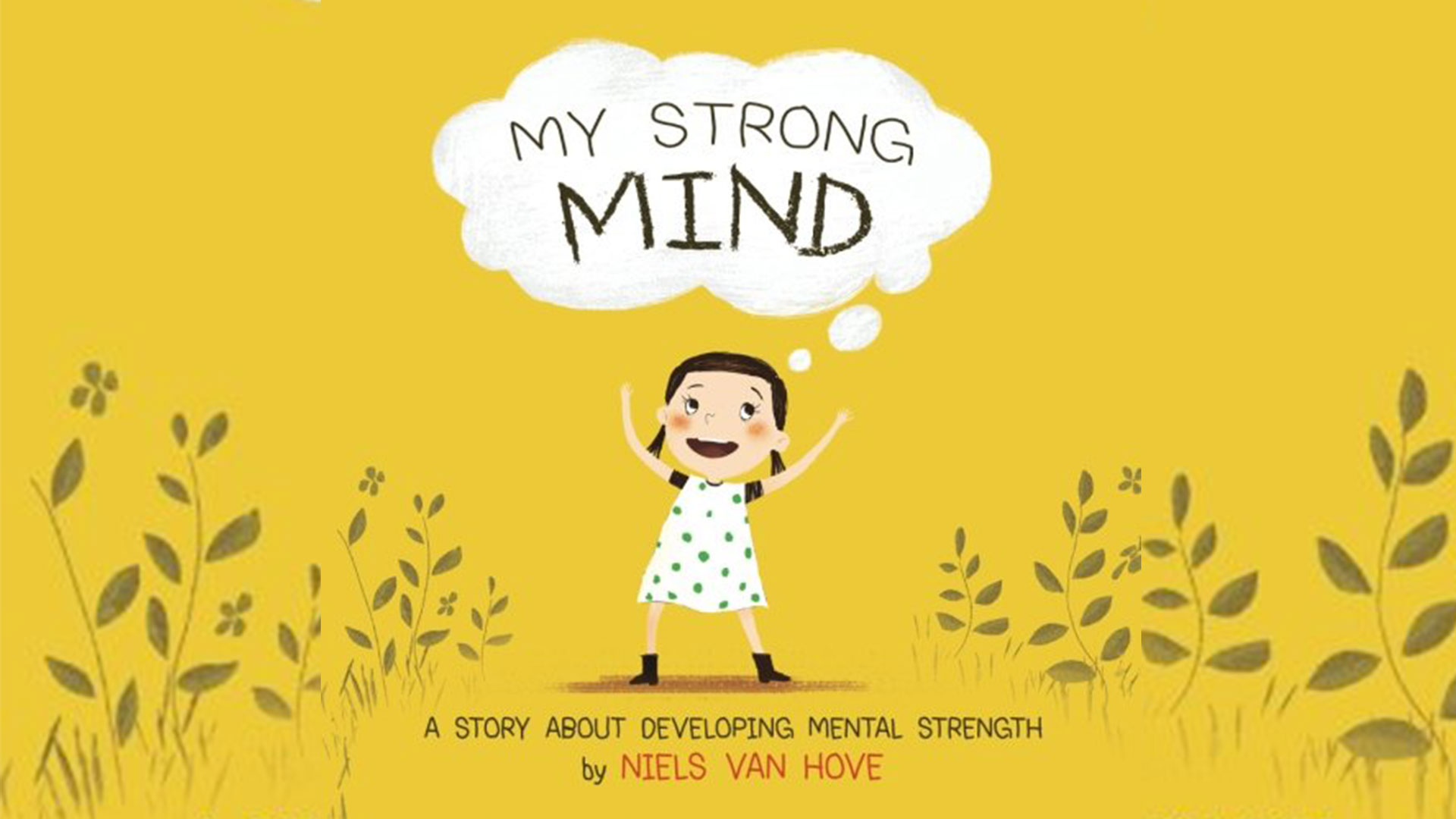 Calm clipart mental strength. Dad writes book to
