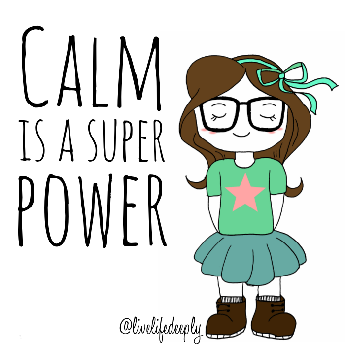 Calm clipart mindfulness. Is a super power