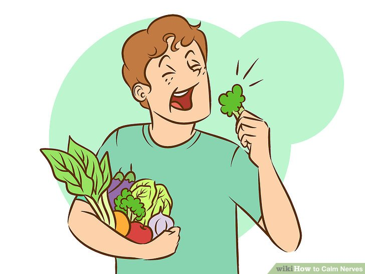 ways to nerves. Calm clipart physical health