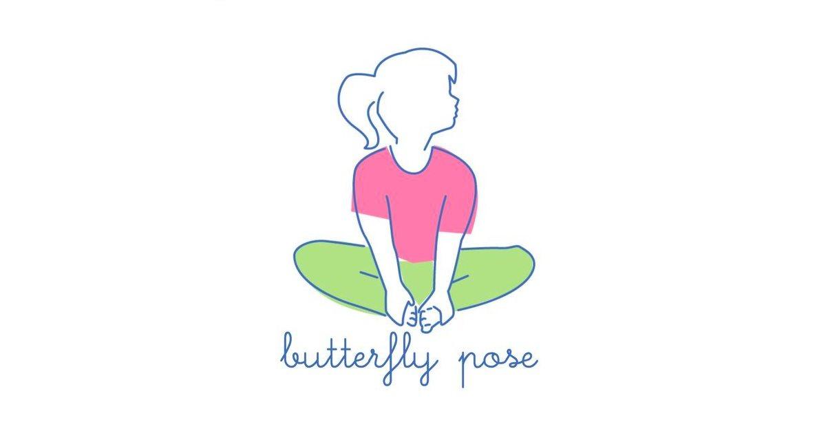 easy yoga poses. Calm clipart physical health