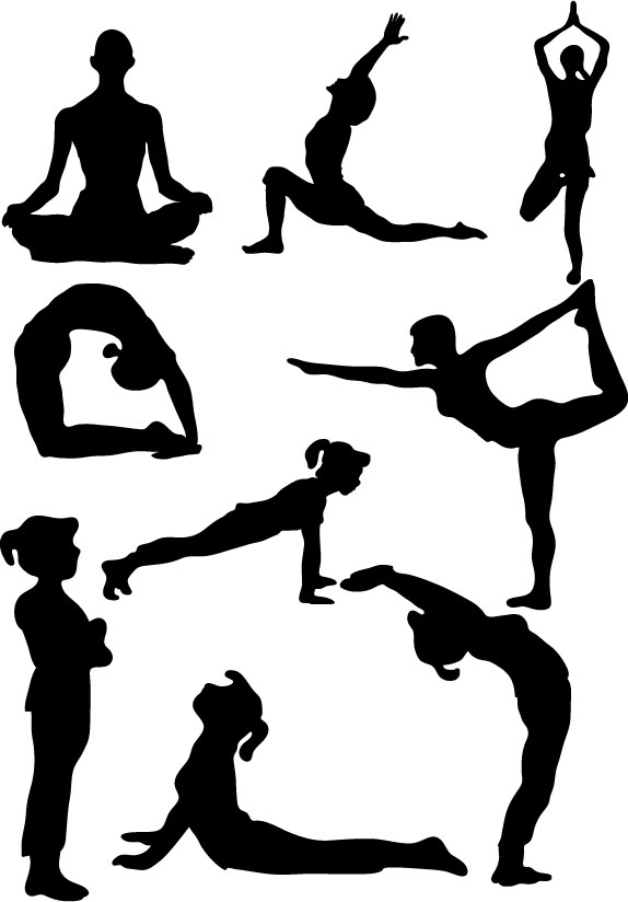 Health silhouette at getdrawings. Calm clipart physical wellness