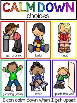 Down techniques books posters. Calm clipart preschool