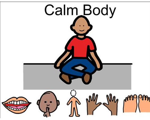 Poster . Calm clipart safe body
