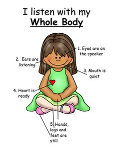 The parts of a. Calm clipart safe body