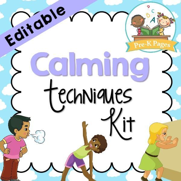 Calm clipart soothing. Down kit youngest child
