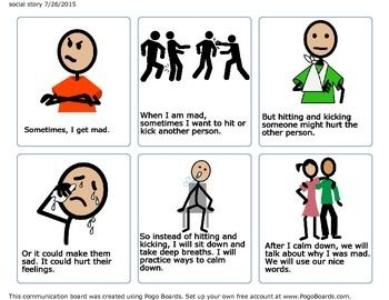 best social stories. Calm clipart talk