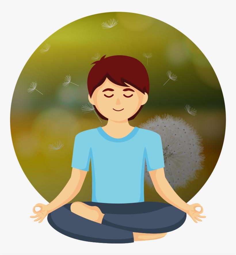 Meditation calmness body png. Calm clipart transparent