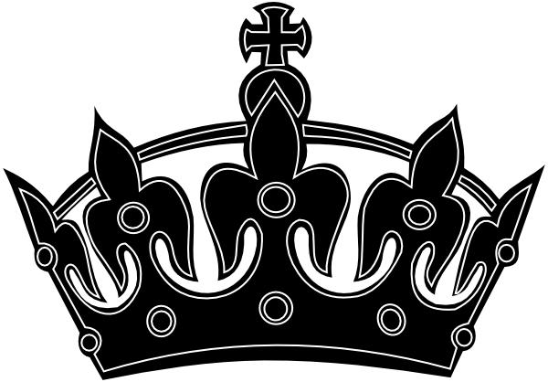 Calm clipart transparent. Black keep crown border
