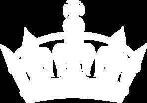 White keep crown clip. Calm clipart transparent