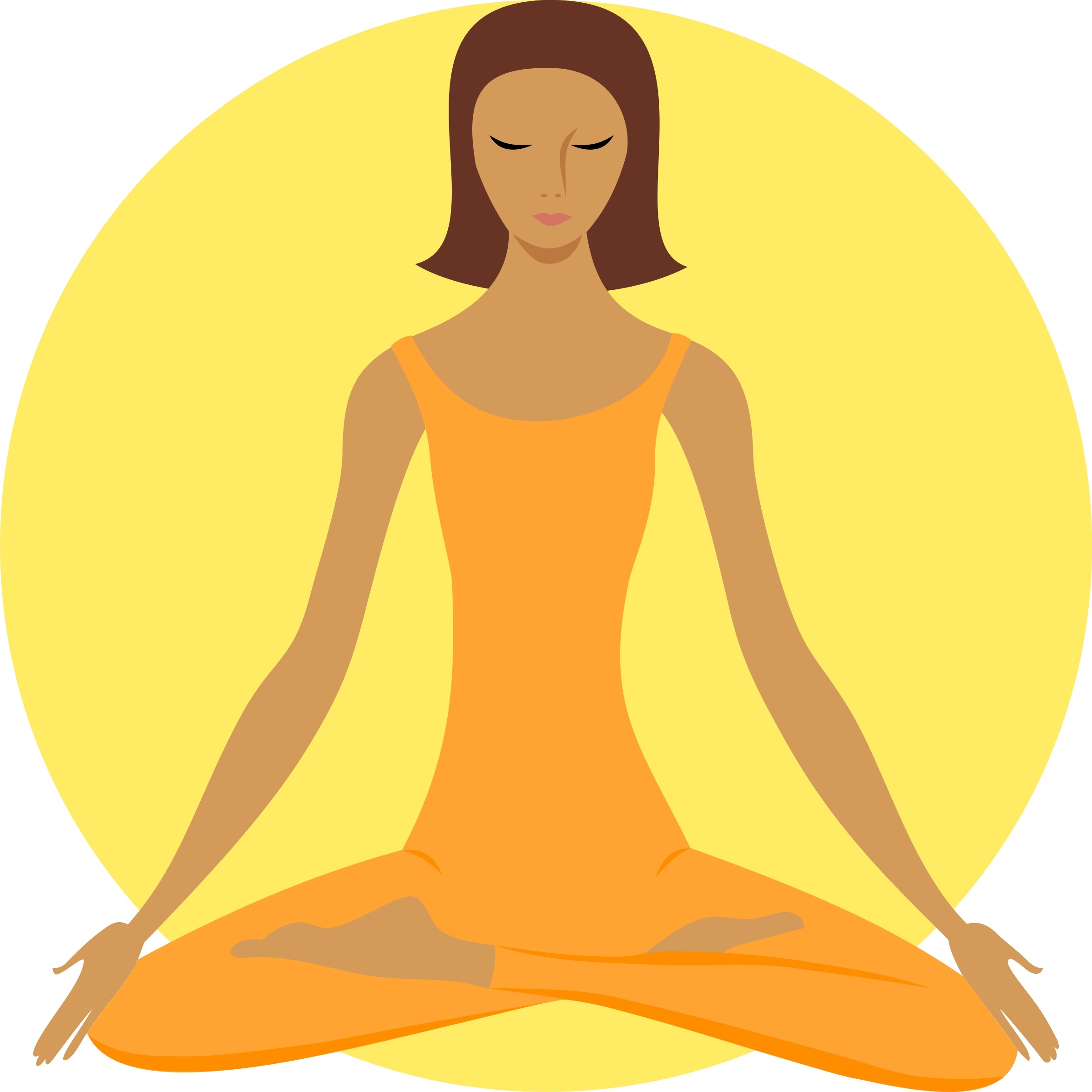 Calm clipart yoga. Awesome gallery digital collection