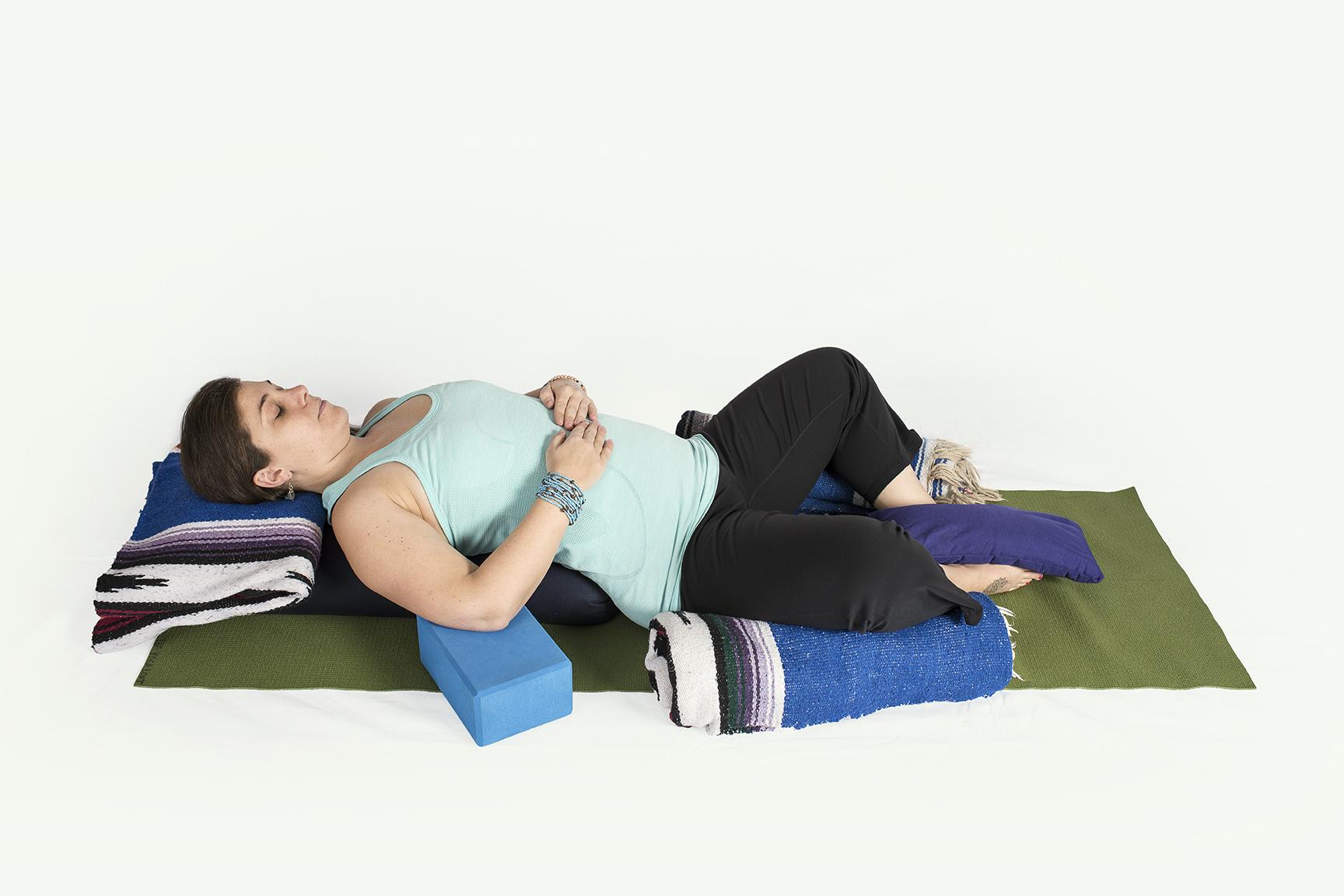 Calm clipart yoga class. Restorative the loft weekly