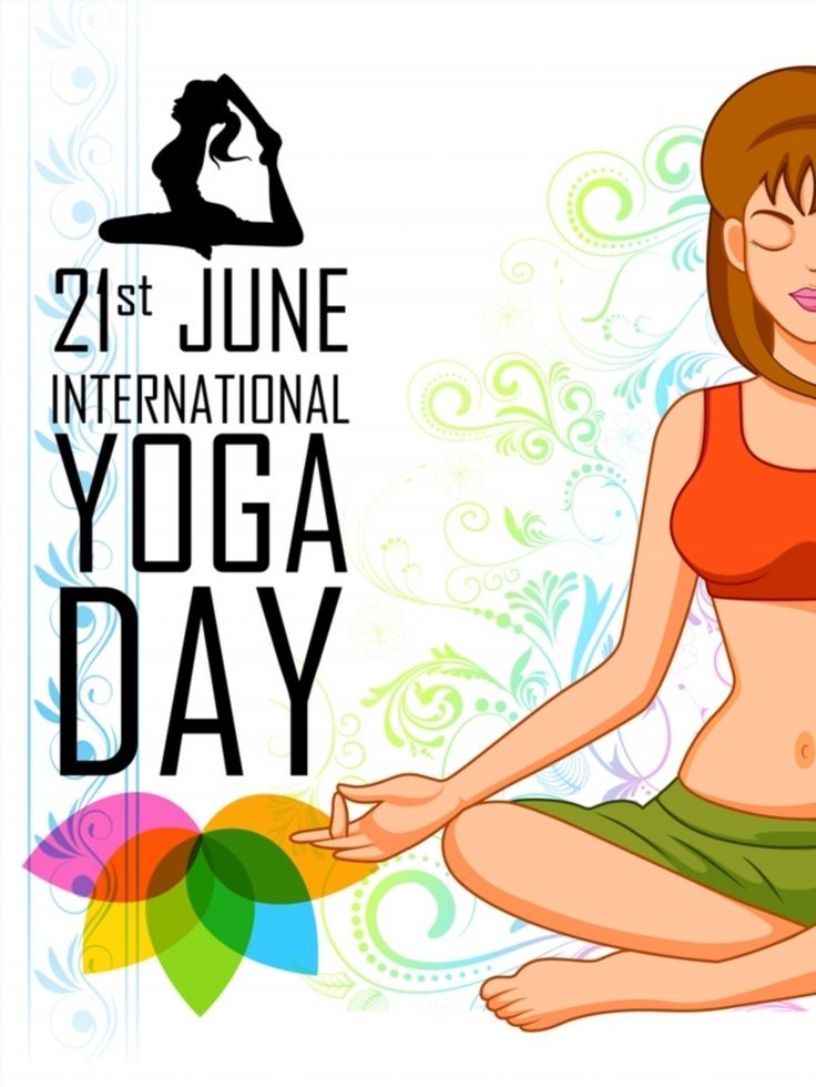 best posters images. Calm clipart yoga day