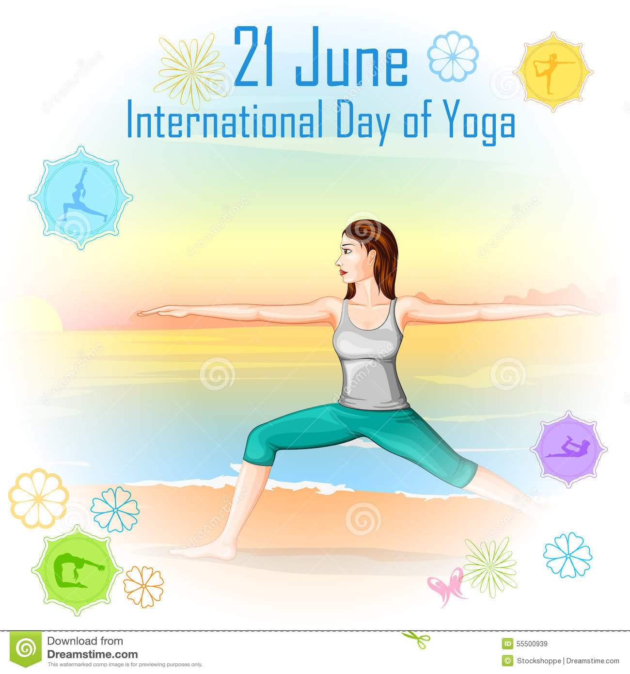 Calm clipart yoga day.  best collection of