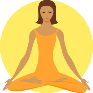 Calm clipart yoga instructor. Adult services wells branch