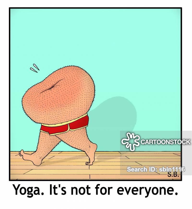 Calm clipart yoga teacher. Cartoons and comics funny