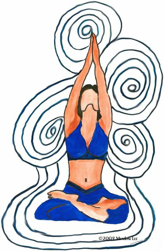 Merkaba the ascension seven. Calm clipart yoga teacher