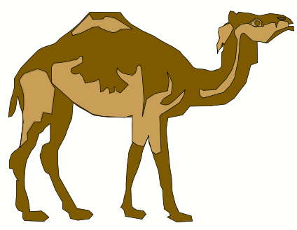 camel clipart animated