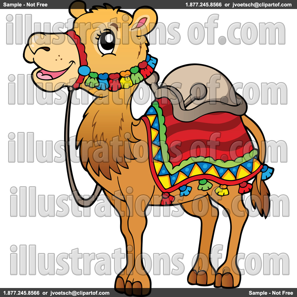 Camel clipart arabian. Body pencil and in