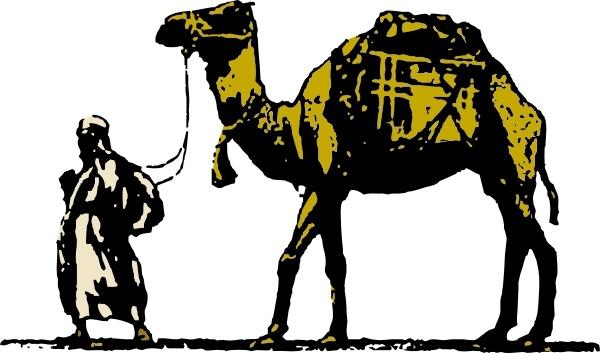 camel clipart arabian
