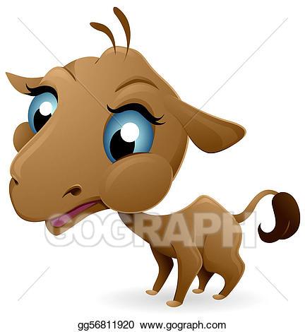 Stock illustration illustrations gg. Camel clipart baby camel